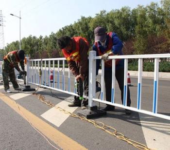 道路護欄施工安裝